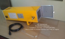 mvi portable electrode oven 5 kg with thermostat mvi e5 ac