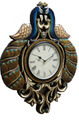 Peacock Style Wall Clock