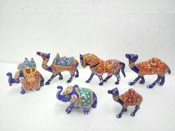 Metal Meenakari Animals