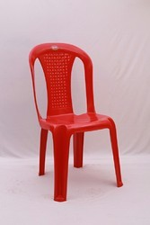 Melody Plastic Chair Without Arms Armless Chair
