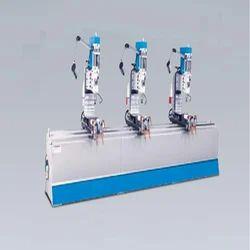 Three Head Drilling Machine