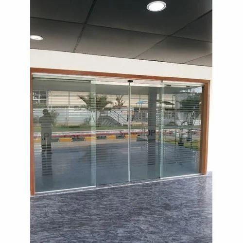 Motion Sensors Glass Door