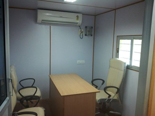 Prefabricated Portable Container Office Cabin
