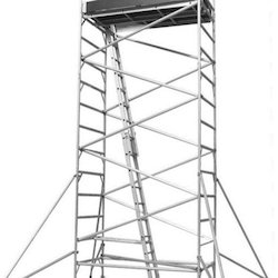 Mobile Tower Scaffold Single Width With Stairway