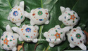 Marble Inlay Tortoises