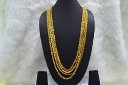 24ct Gold Plated Mala