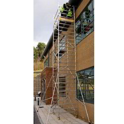 Double Width Scaffold Without Stair