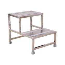 Double Foot Step Stool SS