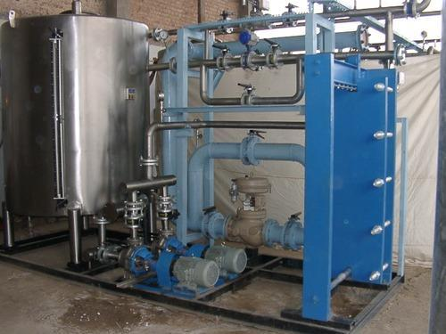 Hot Water Generation System Manual Heating System