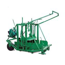 Manual Movable Block Making Machine