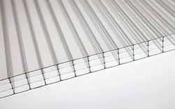 Polycarbonate Tripal Wall for Wall, Five Wall Sheets