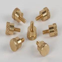 Brass Knurled Screw