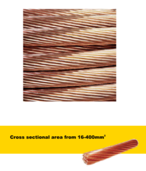 Hard Copper Stranded Wire Rope