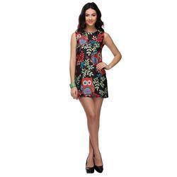 Ladies Casual Printed Dress