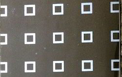 Stainless Steel Square Etching Designer Sheets