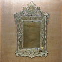 Silver Plated Venetian Mirror