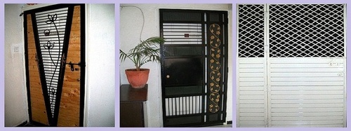 Safety Door Grill Design Aaditya Aaryan Enterprises In