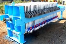 Sludge Dewatering Filter Press