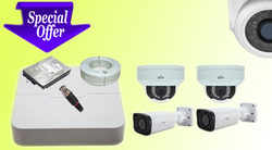 UNV 2 MP HD Cameras Kit