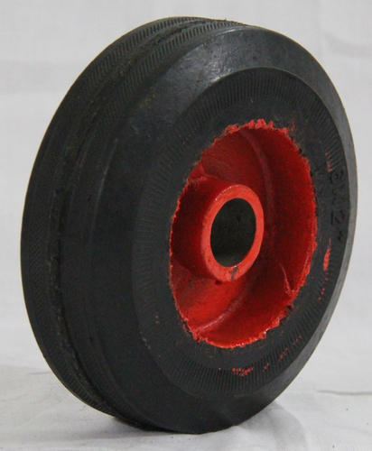 Half Molded Rubber Generator Wheel