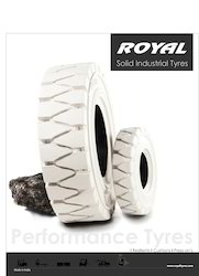 Non- Marking Solid Resilient Tyres