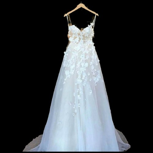 Christian Wedding Gowns - White Wedding Gown Manufacturer from Hyderabad