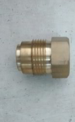 Pump Nipple (Brass) 22mm Hex