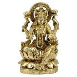 Brass Lakshmi Statue