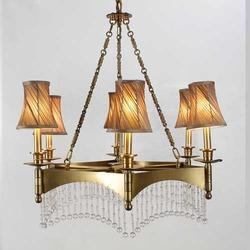 Silhouette Antique 6 Arm Chandelier