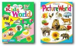 Kids World Picture World Book