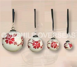 Opal Decorative Christmas Ornaments