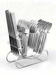 25 Pcs Hanging Cutlery Set