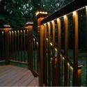 LED Strip In Glass Step