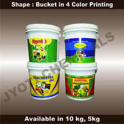 Bucket in 4 Color Printing