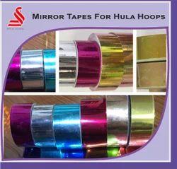 Metallic Mirror Hula Hoop Tapes