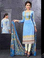 exclusive printed dress