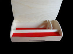 Tapered Wine Chocolate Boxes