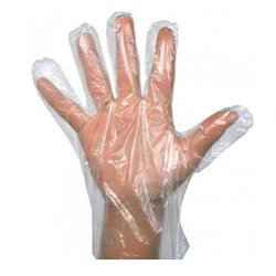 plastic hand gloves