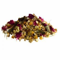 tulsi chamomile rose tea