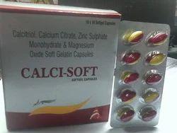 Calcitriol, Calcium Citrate & Zinc Sulphate Softgel Capsules