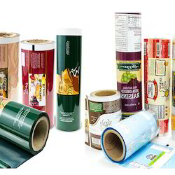 Printed Laminated Plastic Roll Film