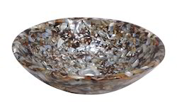 Opal Brown Mop Resin Basin