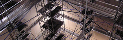 Drop Down Modular Scaffolds For Boilers