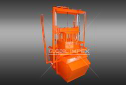 Double Vibrating Block Making Machine