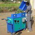 Organic Waste Shredder Machine