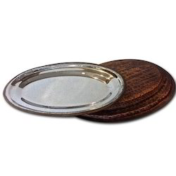 Smokey Finished Oval Snacks Salad Platters