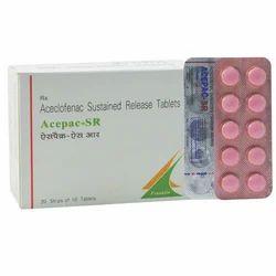Acepac SR Aceclofenac Tablets