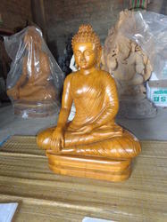 Buddha Statue In Wood