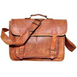 Junkyard Leather Messenger Bag- Cruze