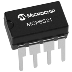 MCP6S21-I/P Operational Amplifiers